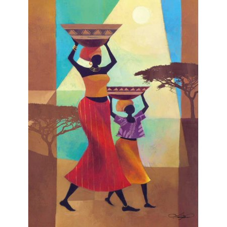 - Mothers Helper Poster Print by Keith Mallett