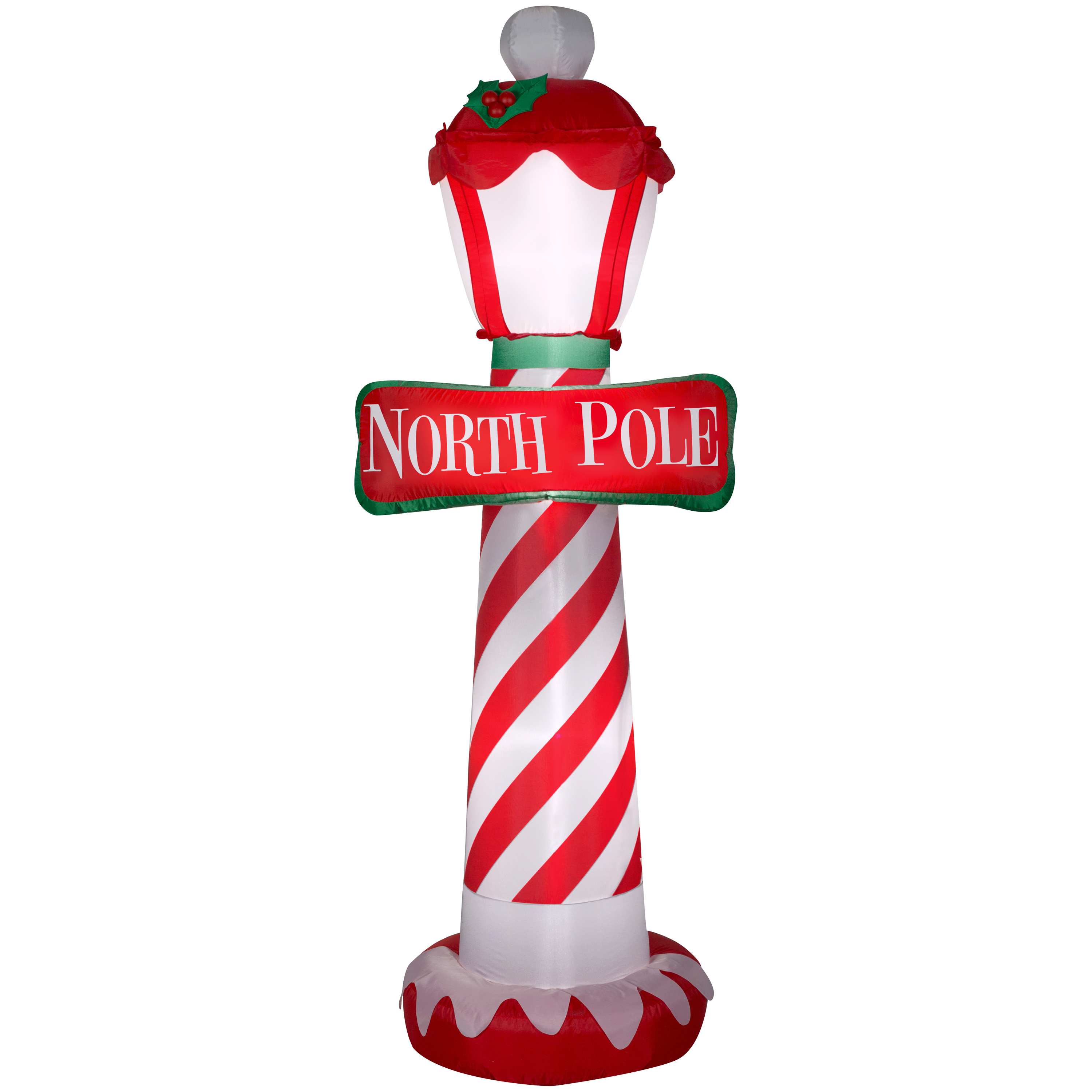 Airblown Inflatable-North Pole 7ft tall by Gemmy Industries