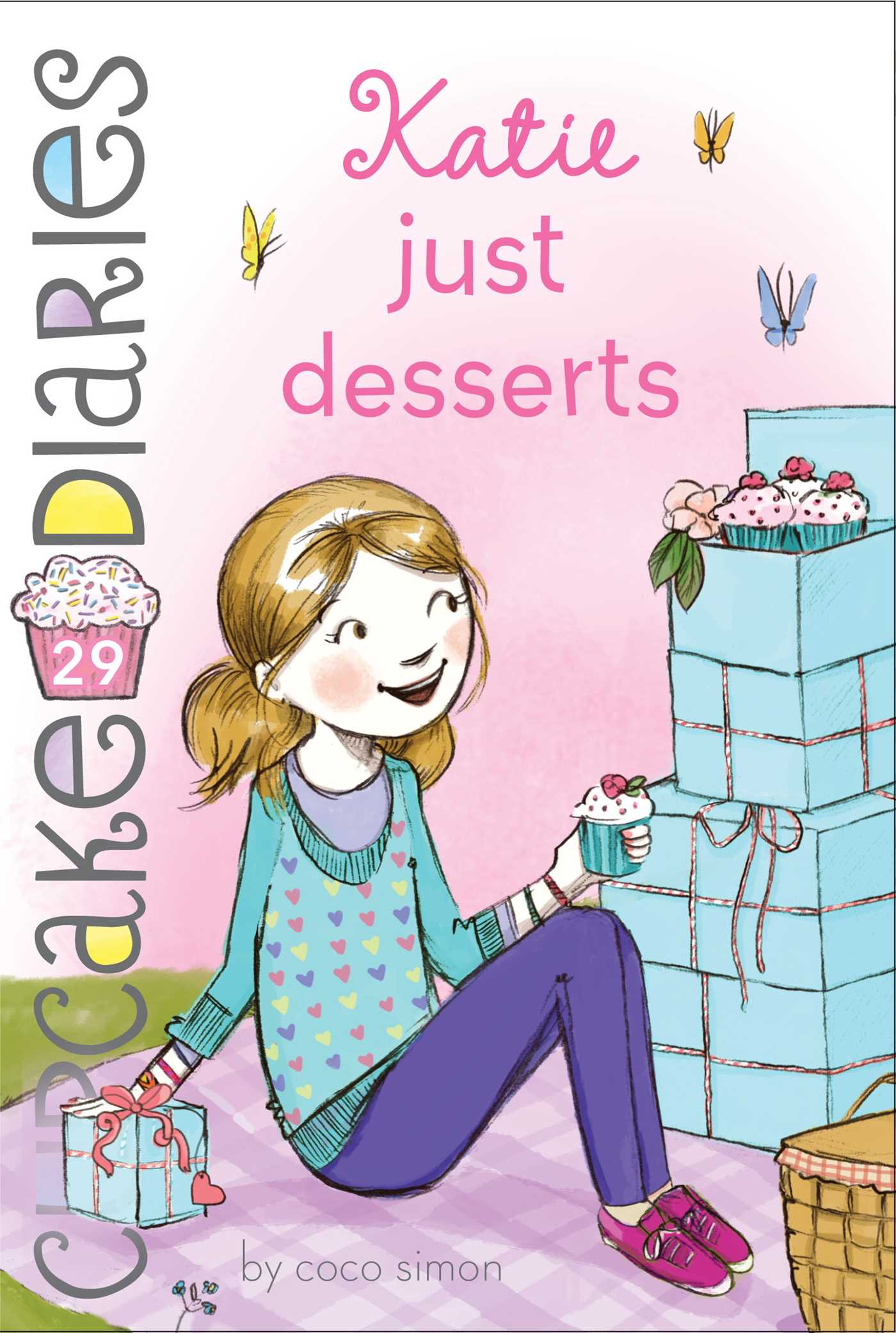 Katie Just Desserts (Book #29 of Cupcake Diaries) By Coco Simon