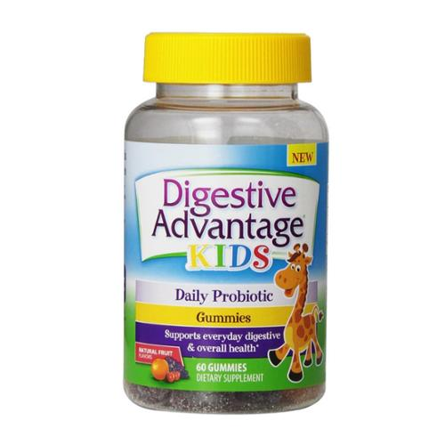 Digestive Advantage Daily Probiotic Gummies for Kids, 60 count (Pack of 2)