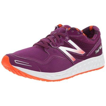 New Balance Women's W1980 Fresh Foam Zante Running Shoe, Purple/Pink, 6 B
