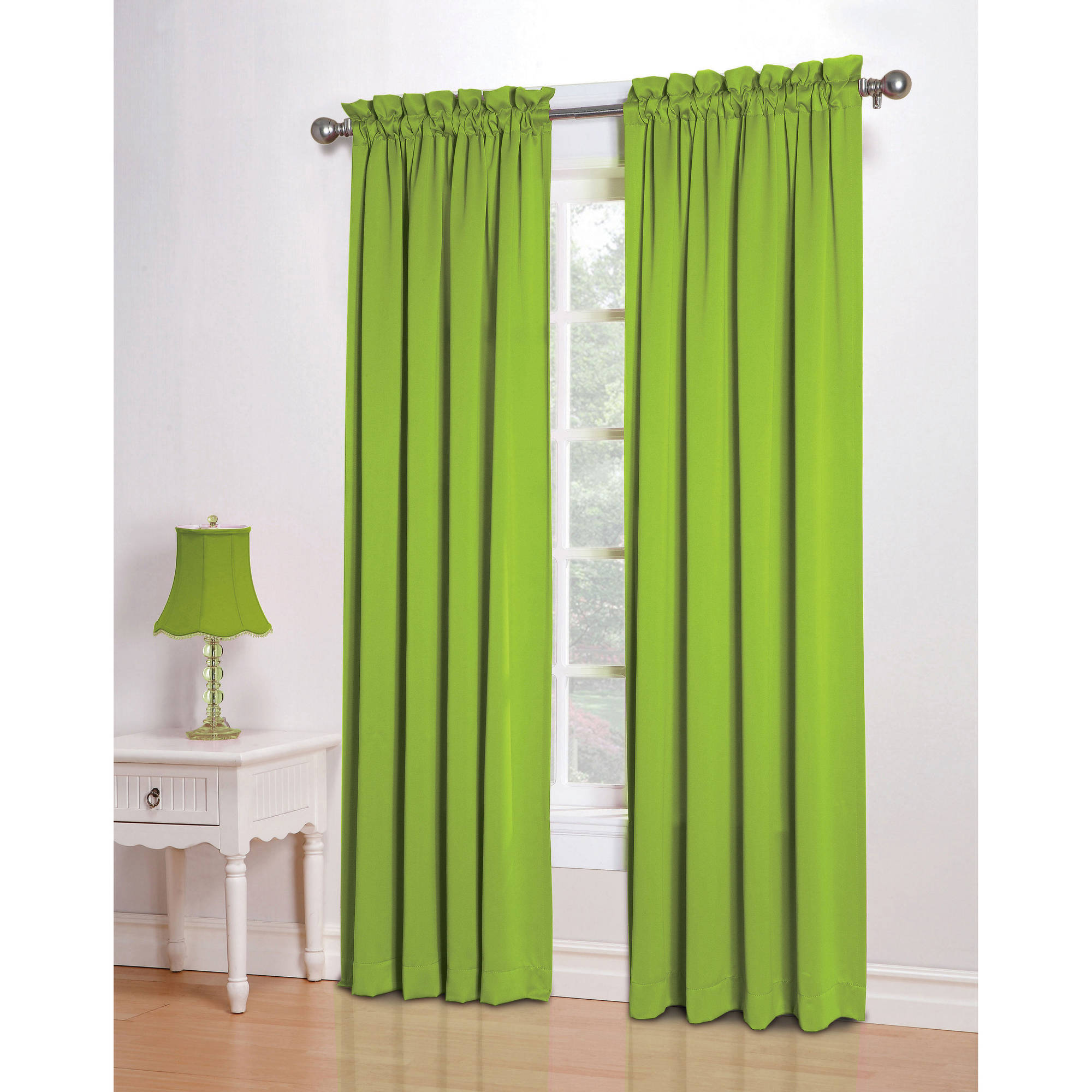 Sun Zero Kylee Room-Darkening Energy-Efficient Curtain Panel