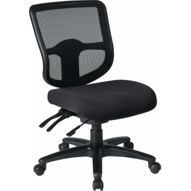 Office Star Pro Line II 98341 30 Ergonomic Task Chair With ProGrid Back