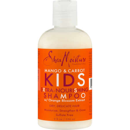 SheaMoisture Kids Extra-Nourishing Shampoo, Mango & Carrot, 8 Oz