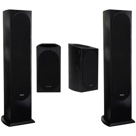 Pioneer SP BS22A LR Andrew Jones Designed Dolby Atmos Bookshelf Speakers With