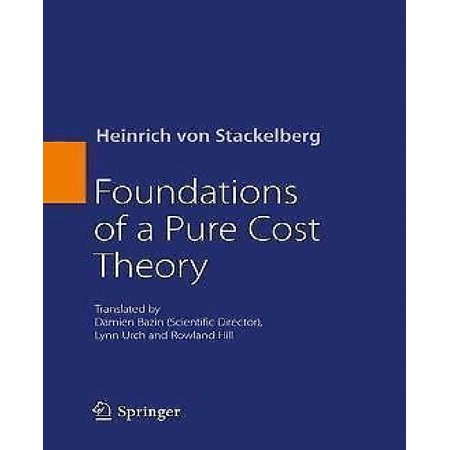 Foundations of a Pure Cost Theory - image 1 de 1