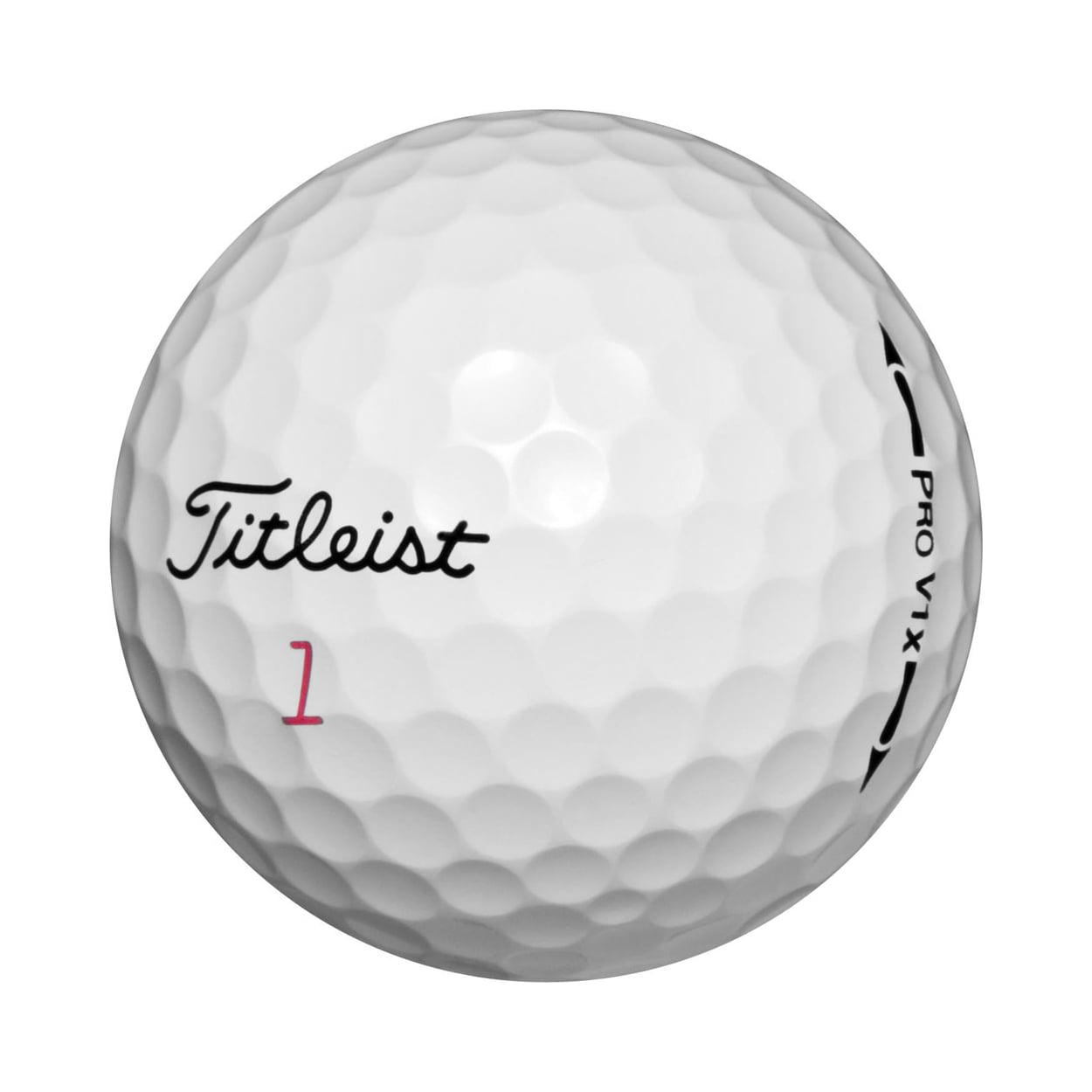 (36) Titleist Pro V1x Golf Balls 3-Dozen (Refinished   Mint) - by