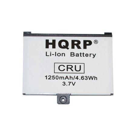 HQRP Battery for Barnes & Noble BNRB1530, 9BS11GTFF10B3, 9875521 E-Book Ereader fits NOOK, BNRZ1000, 005, BNRZ100, BNRV100, BNRB454261, NOOK Classic, NOOK First Edition Digital Book Reader + Coaster