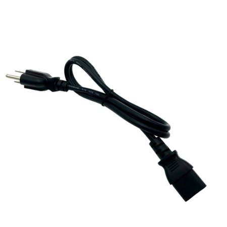 Kentek 3 Feet Ft AC Power Supply Cord Cable Plug for Microsoft Xbox One 1 Brick Charger Adapter ()