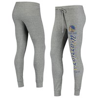 Women's Heathered Gray Golden State Warriors Academia Cuffed Pants