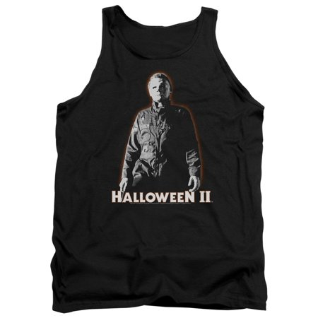Halloween II Michael Myers Mens Tank Top Shirt (Halloween Michael Myers Piano)