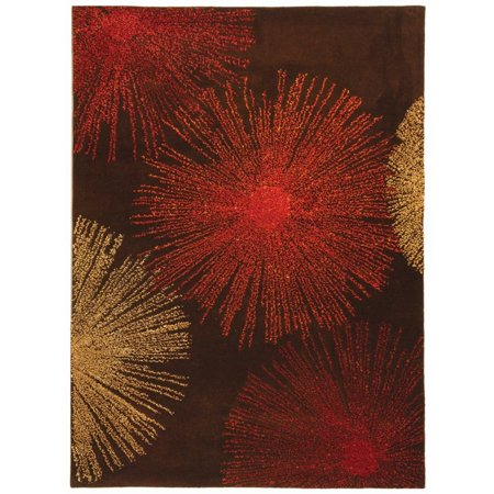Safavieh Soho 8' X 10' Hand Tufted Wool Rug in Brown - image 3 de 3