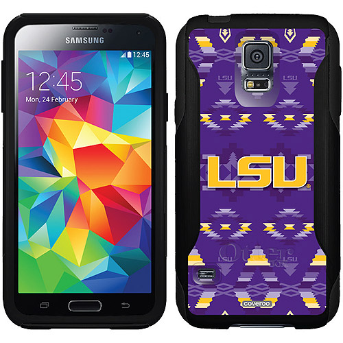 LSU Tribal Design on OtterBox Commuter Series Case for Samsung Galaxy S5