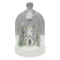 Belham Living Holiday Scene Cloche