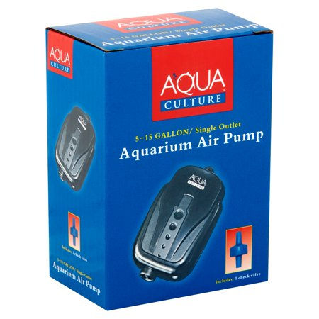 Aqua Culture 5-15 Gallon Single Outlet Aquarium Air