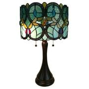 Tiffany style lamps amora lighting am286tl12 tiffany style floral table lamp aloadofball Choice Image