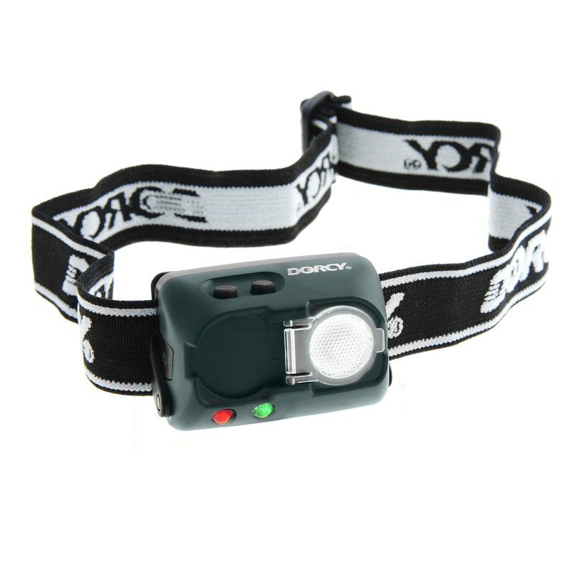 Dorcy 20 Lumens LED  Water/Impact Resistant Adjustable Headlamp w/Strobe 41-2103