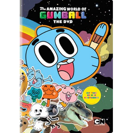 The Amazing World of Gumball: The DVD (DVD) - Halloween 2017 Cartoon Network