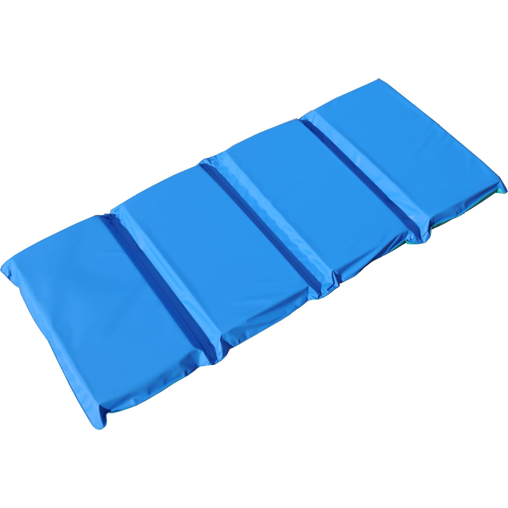 """Peerless Plastics Blue/Teal KinderMat, 2"""" x 19"""" x 44"""