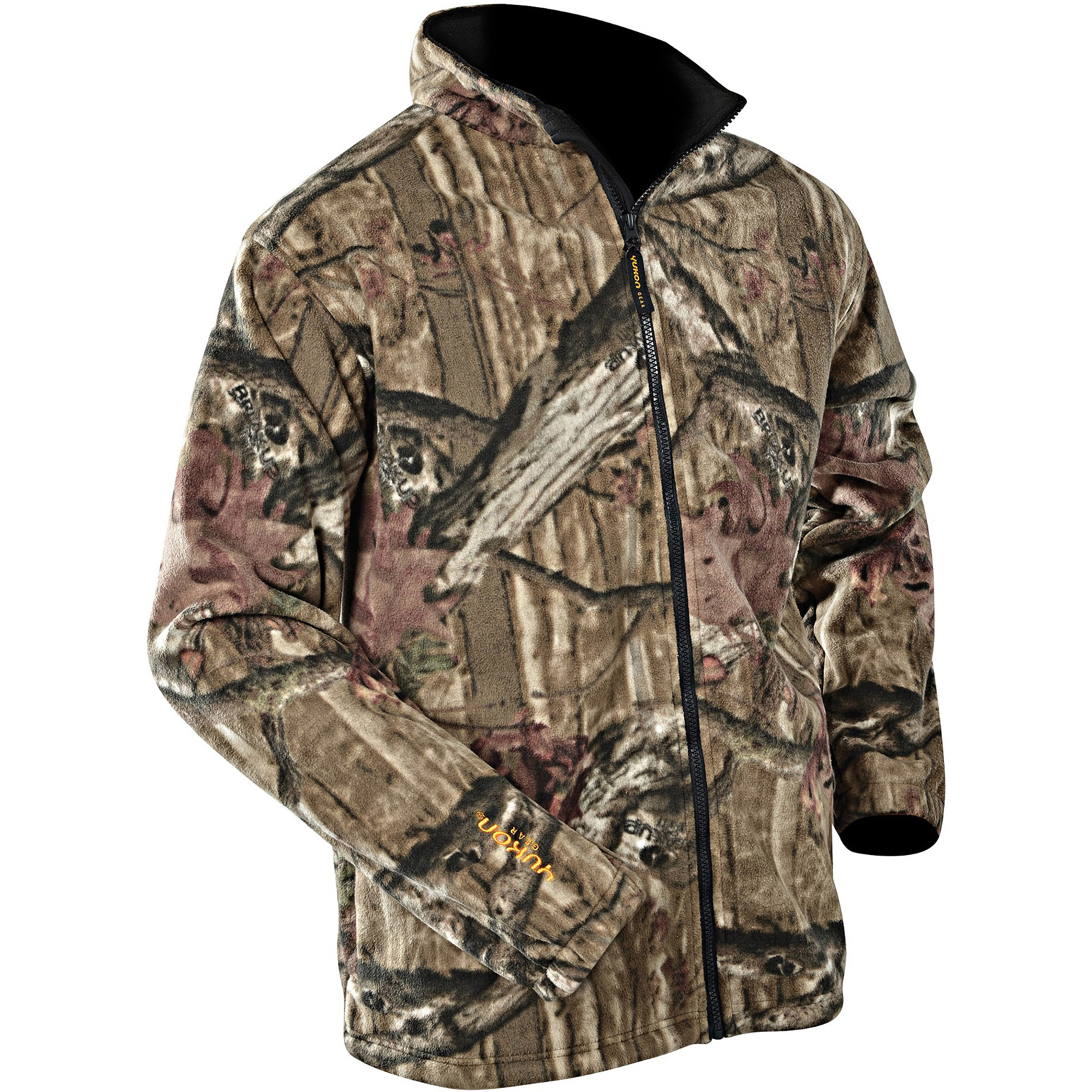 Yukon Gear Men's Extreme Fleece Jacket, Break Up Infinity by Msg Imports