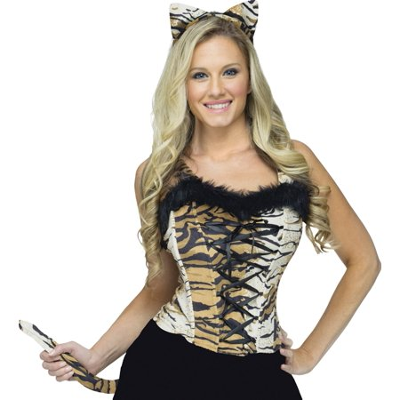 Homemade Tiger Costume For Halloween (Sexy Tiger Instant Costume)