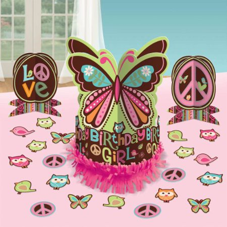 Hippie Chick Table Decorating Kit (23pc)