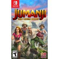 Jumanji The Video Game, Bandai Namco, Nintendo Switch, 819338020754