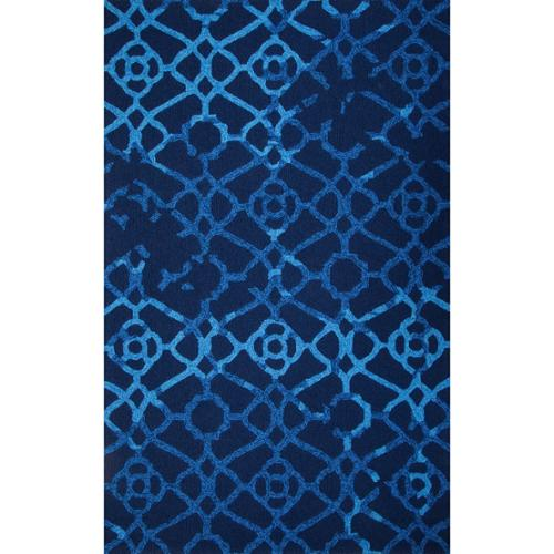 MA Trading Hand-Tufted Chinese Heritage Blue Rug (5 x 8')