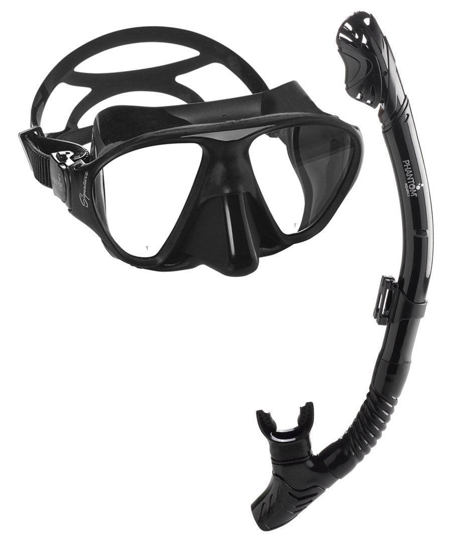Phantom Aquatics Signature Mask Dry Snorkel Set by