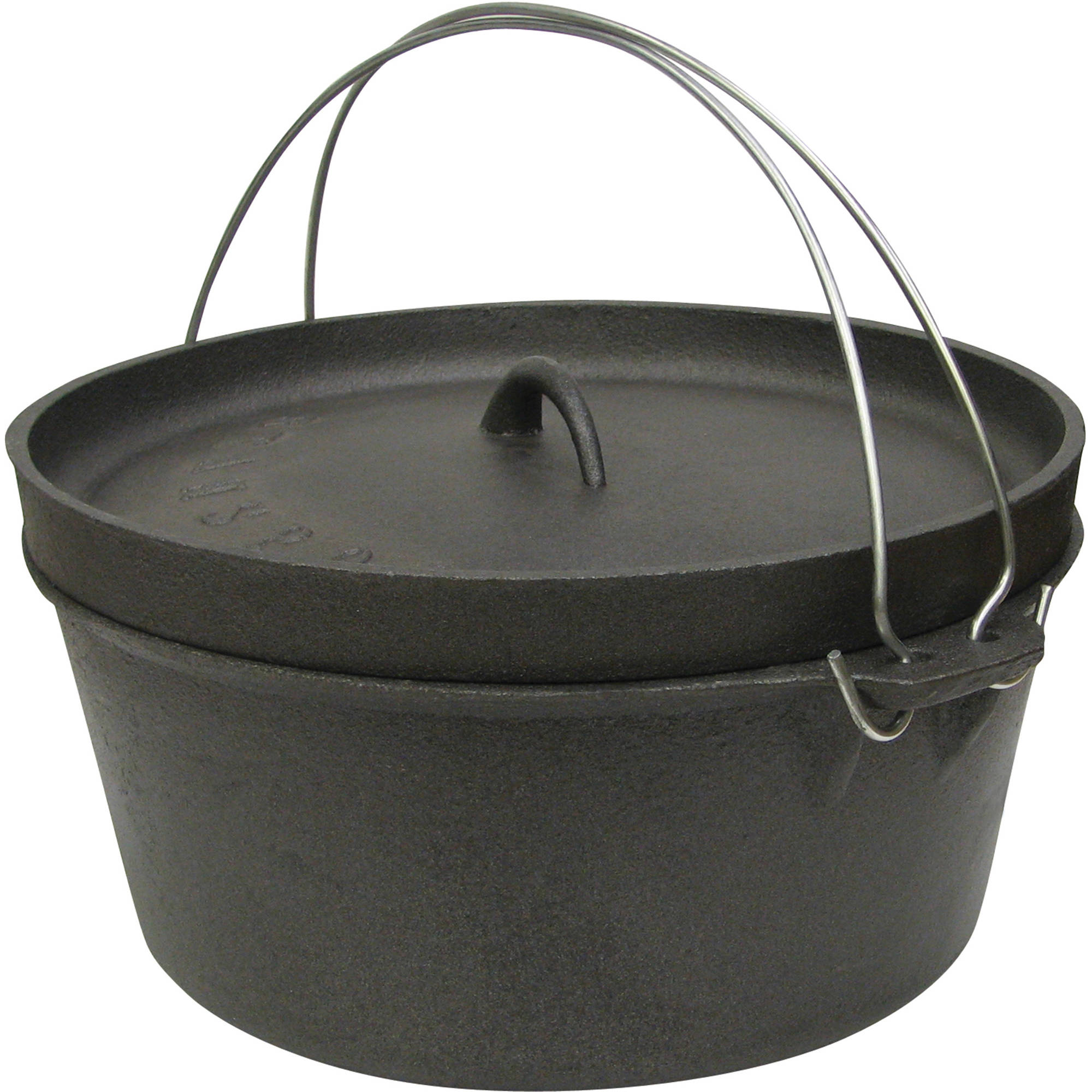 Stansport Cast Iron Dutch Oven, Without Legs by Stansport