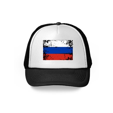 467ca6a4d8c RUSSIA Flag Hat Russian National Flag SnapBack Trucker Mesh Baseball Cap  Christmas gift ideas 2018