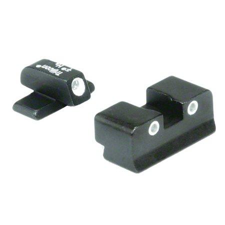 Trijicon BR02 Bright and Tough Night Sights For Browning Hi-Point Pistol  Sights For Browning Hi-Point Pistol