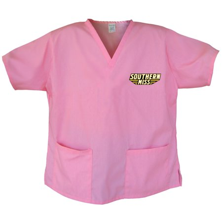 - Southern Miss Scrubs USM Golden Eagles Tops and Shirts for Women