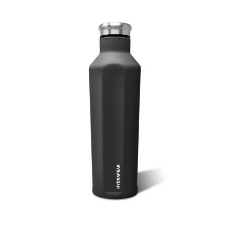 Blue Water Collection (Hydrapeak 25oz Grippy Water Bottle Stainless Steel Double Wall Triple Vacuum Insulated Anti-Slip Coated Thermos)
