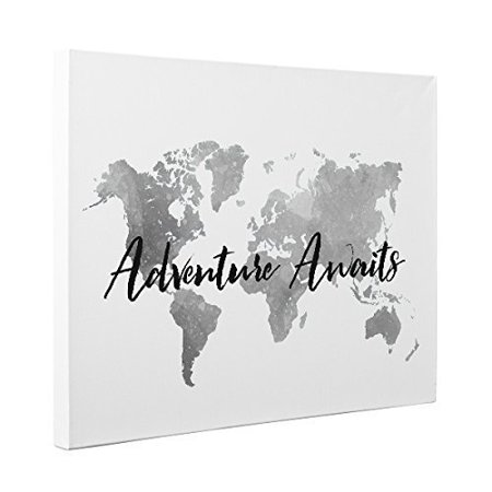 Adventure Awaits Canvas Wall Art