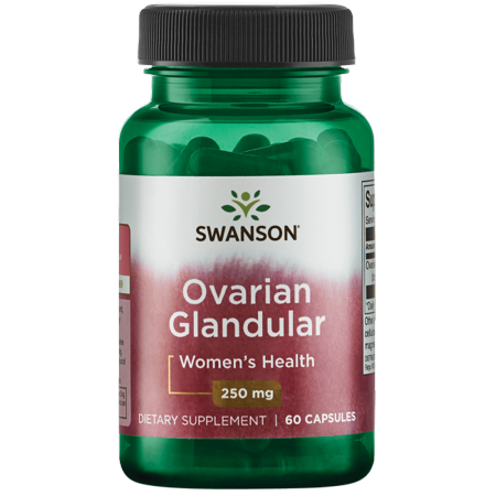 Glandular Concentrate (Swanson Ovarian Glandular Capsules, 250 mg, 60 Ct)