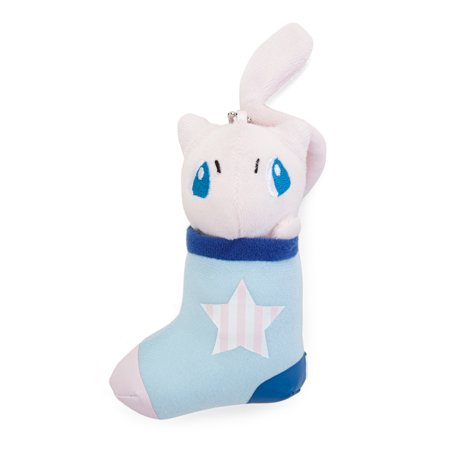 Pokemon Sun and Moon Mew Stocking 5 inch Pokemikke Plush Toy