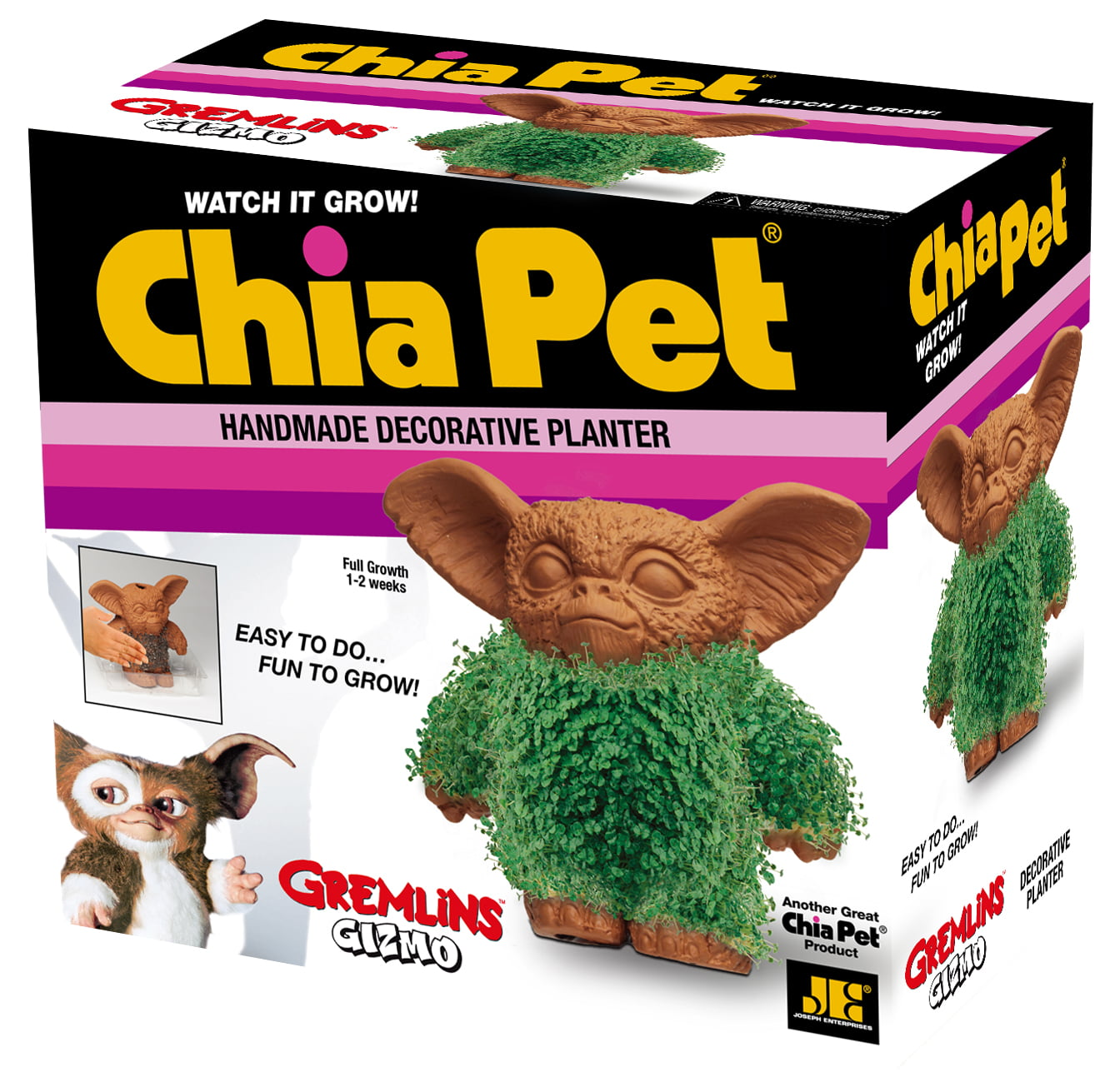 "Chia Pet ""Gizmo"" (Gremlins) - Decorative Planter. Fun to Grow!"