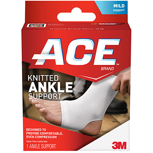 ACE Knitted Ankle Support, S, 207300