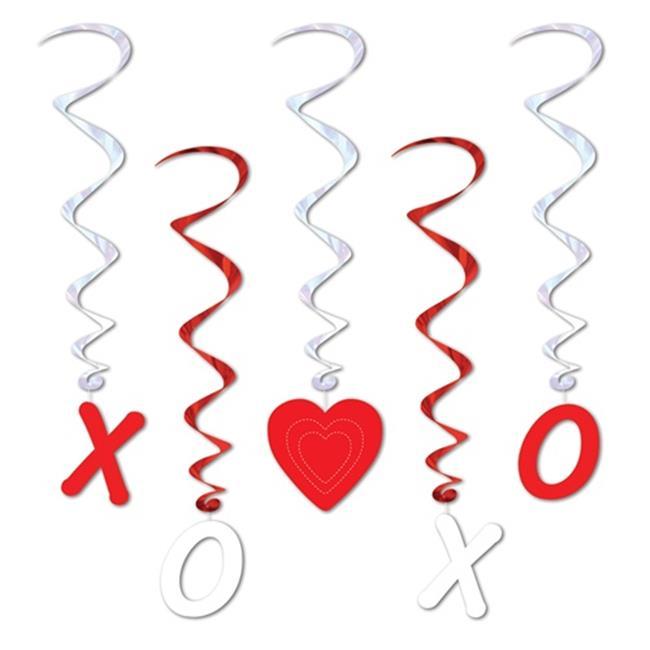 Valentine Whirls - Pack of 6 - image 1 de 1