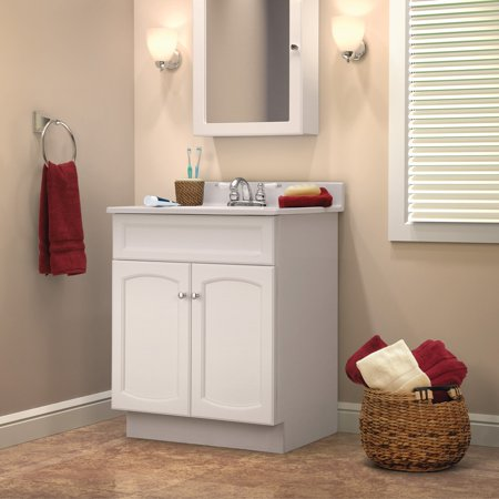 Foremost Heartland 16.625-in. White Bathroom Medicine Cabinet