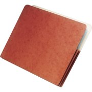 SKILCRAFT, NSN2852914, Accordion-type Expanding File Jackets, 1 Each, Red