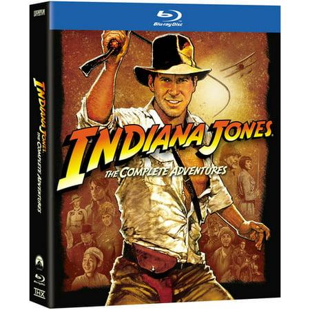 Indiana Jones  The Complete Adventures  Blu Ray