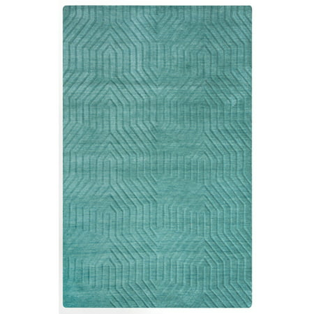 Rizzy Home Technique TC8577 Rug - (8 Foot x 10 Foot) - 8 Foot Spider