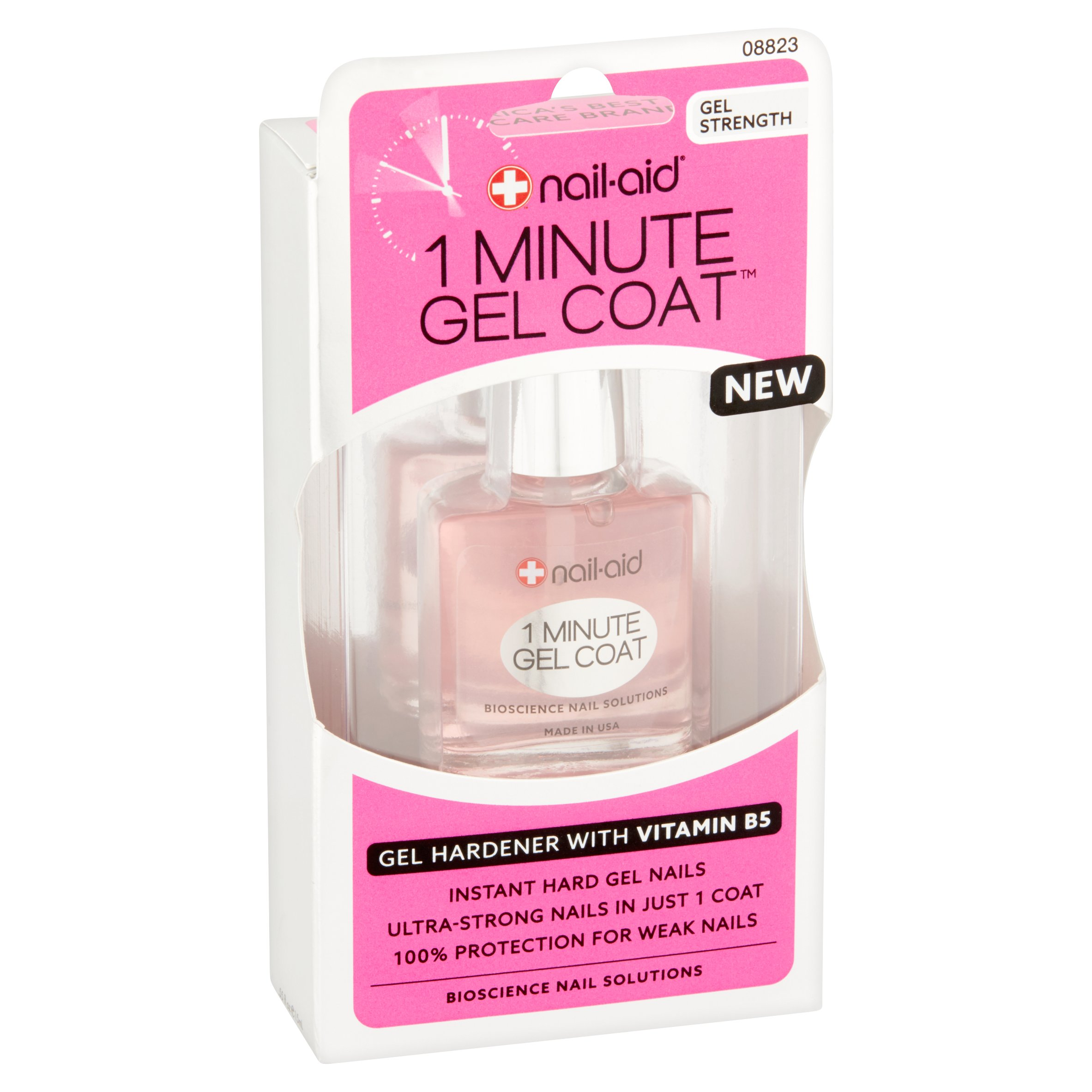 Nail-Aid 1 Minute Gel Coat, .55 fl oz - Walmart.com