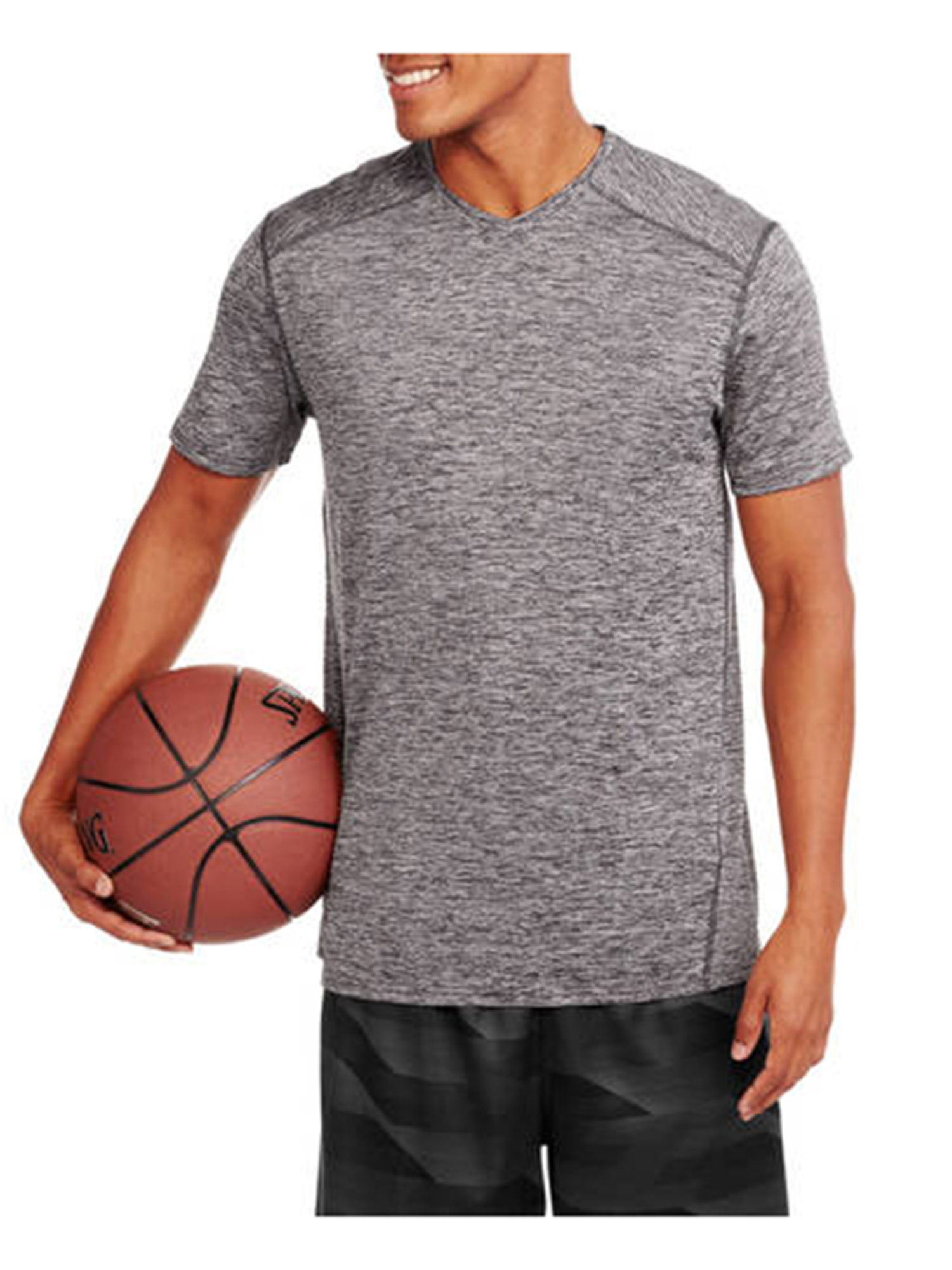 Big Men's Performance V-Neck Short Sleeve Tee