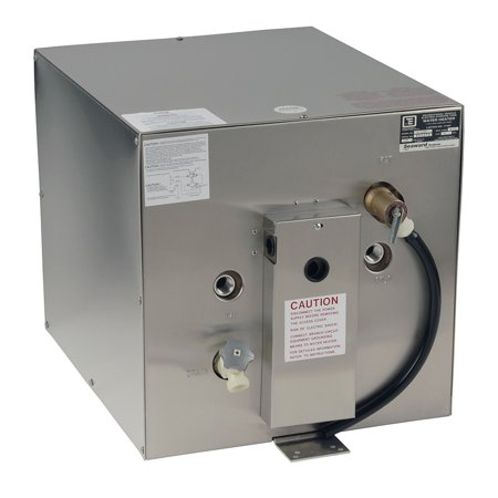 Whale Marine S1250 Whale Seaward 11 Gallon Hot Water Heater W/rear Heat Exchanger - Stainless Steel - 240v - 1500w