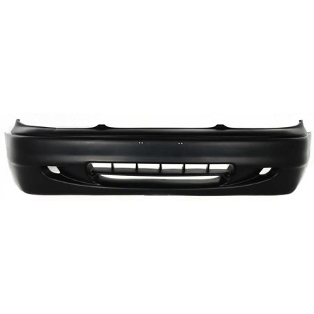 NEW FRONT BUMPER COVER PRIMED FITS 1995-1997 HYUNDAI ACCENT SEDAN 8651022000PACK (Hyundai Accent Front Bumper Cover)