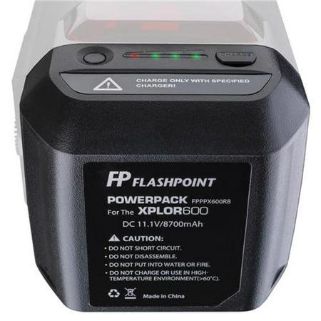 Battery Power Pack Unit for the XPLOR 600 Series (800 Monolight)
