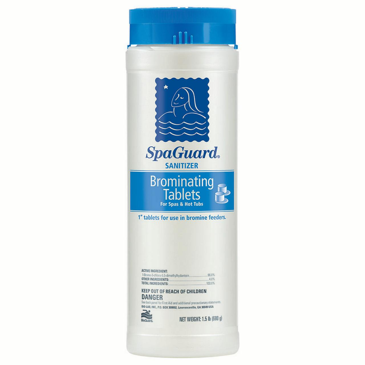 SpaGuard Brominating Tablets 1.5 lbs by BioGuard